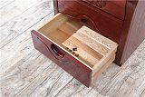 广东木言木语黄菠萝木床头柜 现代简约卧室床头柜