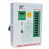 郑州鹏飞牌小区智能充电站刷卡投币使用方便