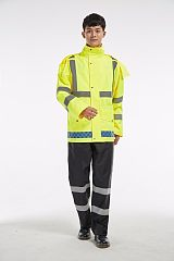 新式交警反光雨衣厂家
