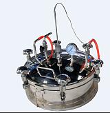 唐山任氏巨源微波仪器快速升温精准控温井式炉;