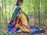 圍巾廠,女士圍巾加工廠家,提供圍巾定制服務廠家-汝拉服飾