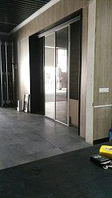 佛山定制铝合玻璃房间门(图);