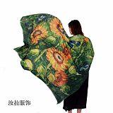 浙江围巾工厂,女士围巾加工厂家,个性化围巾定制工厂-汝拉服饰;