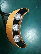 廠家批發中山市明歌照明可信賴6W單色月牙月亮燈瓦面燈瓦片燈LED瓦楞燈;