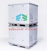广东大型塑料蜂窝板围板箱中空板围板箱