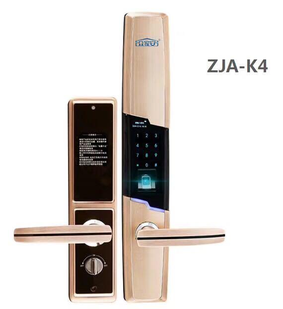 供应ZJA-K4智能指纹锁