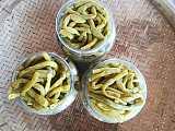 农家土特产:腌制豆角酸