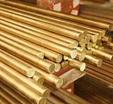 广州国标H65黄铜棒、环保六角黄铜棒;