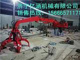 億涵機械 多瓣式廢鐵料抓取機 電動大噸位固定式抓鋼機