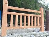 1.8米8柱仿木護欄;