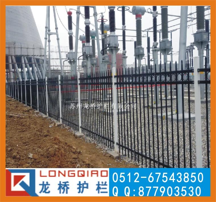 台州电厂围墙栏杆 台州电厂围墙护栏 龙桥护栏专业生产