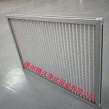 德州精久空气过滤器厂家定制金属铝网初效过滤器