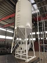 正科干混砂浆罐生产厂家 U型砂浆储存罐 可现场订做