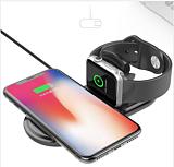 适用苹果手表手机二合一快速无线充电器 AirPower第二代无线充
