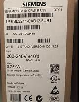 供应西门子G110 0.25KW变频器