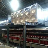 无锡厂价定制常熟张家港印染企业废热废水节能回收不锈钢保温水箱