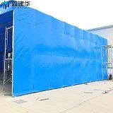 天津市物流园遮阳棚,仓库储货篷,大排档,推拉雨棚,伸缩帐篷,施工棚