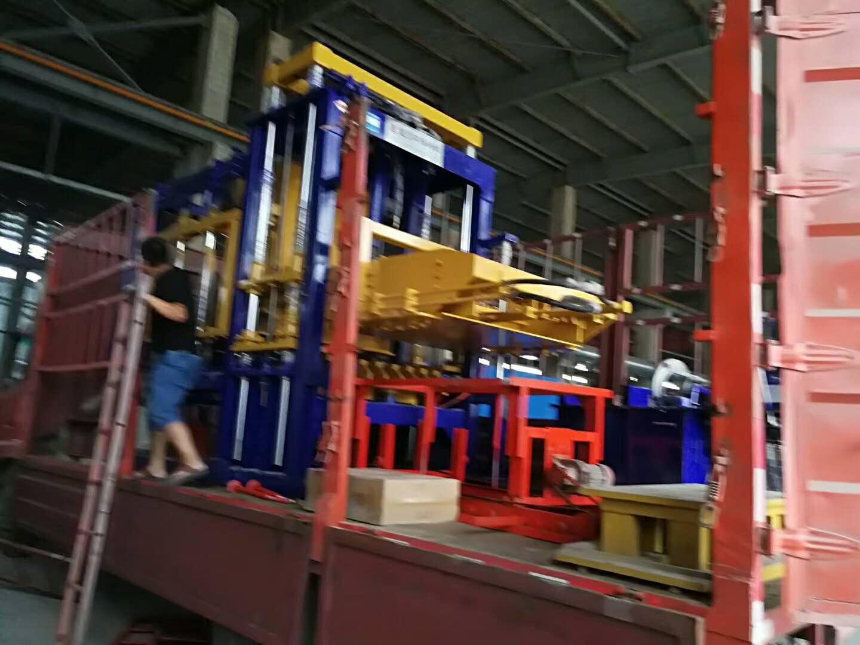 天津免烧砖机设备厂家 免烧砖机多功能水泥砖生产设备出口
