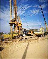 基建工程为什么都选择旋挖钻机施工