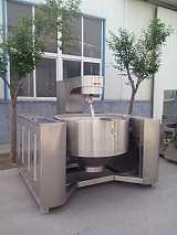 多功能蒸煮夾層鍋攪拌式電加熱蒸汽加熱寵物食品加工機械