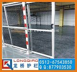 深圳厂区铝型材护栏网 车间工业铝型材护栏网龙桥订制工业隔离网;