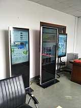 深圳立式广告机,43/55/65寸立式广告机触摸机,落地式广告机