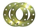 碳钢法兰,即本体材质为碳钢的法兰盘或末端法兰连接件