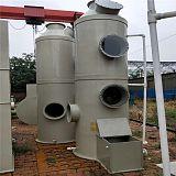 喷漆房预处理设备 PP喷淋塔 防腐水喷淋过滤塔