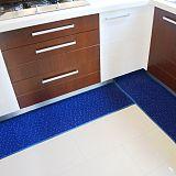 定制入户厨房地毯吸水吸油耐脏长条厨房地垫 长方形防滑地垫