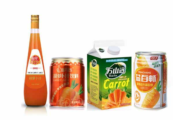 胡蘿卜汁飲料果汁生產線