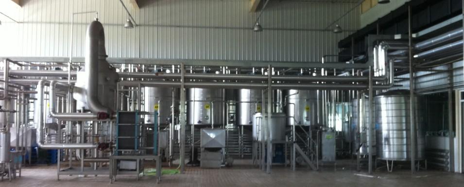 果汁生产线全套设备
