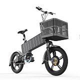 混合能源自行车