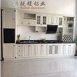 全铝欧式橱柜 衣柜铝型材 全铝浴室柜 全铝家居家具定制