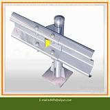 法兰立柱,波形护栏立柱,波形护栏法兰立柱,喷塑,镀锌