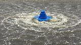 380V220V0.75KW1.5KW养殖鱼虾河塘鱼塘池渔水库涌浪式推浪增氧机