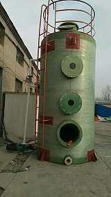 玻璃钢脱硫除尘器有效防止能源浪费