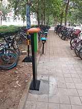 济宁电瓶车充电桩厂家:10路小区充电站