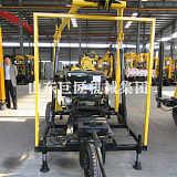 巨匠XYX-130型轮式水井钻机行业标杆品质厂家;