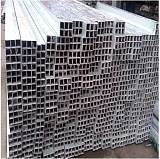 环保5052铝方管、薄壁铝方管批发;