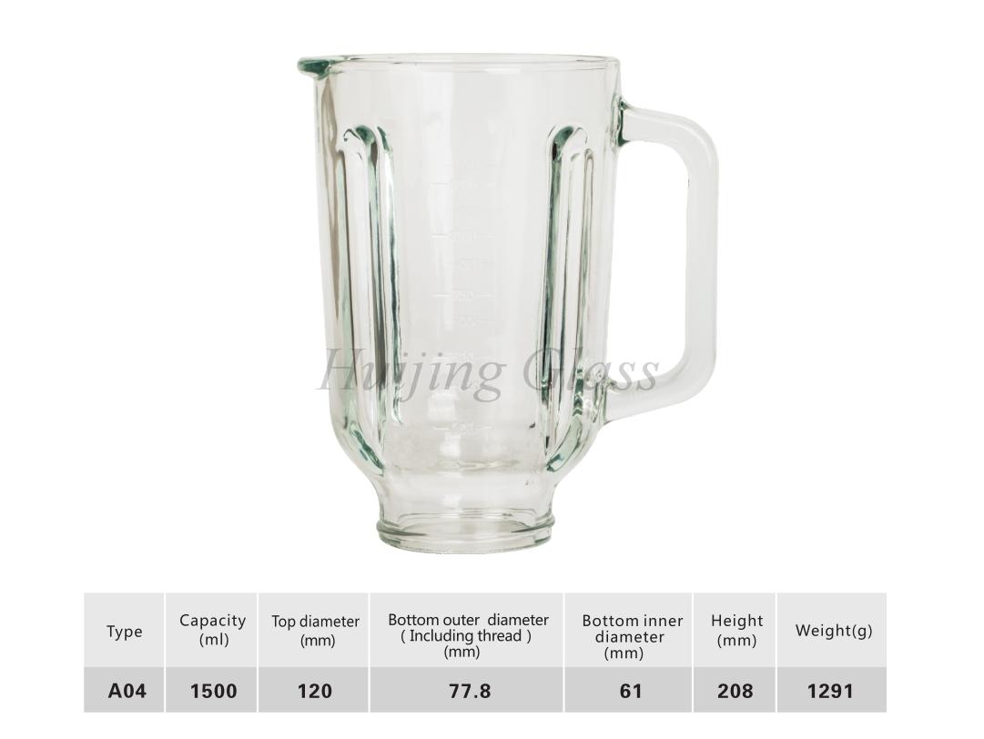 1500毫升攪拌機玻璃杯999
