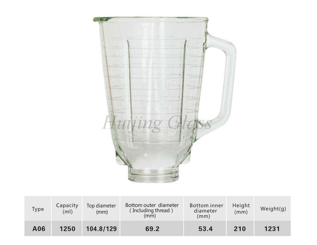 玻璃方杯A06