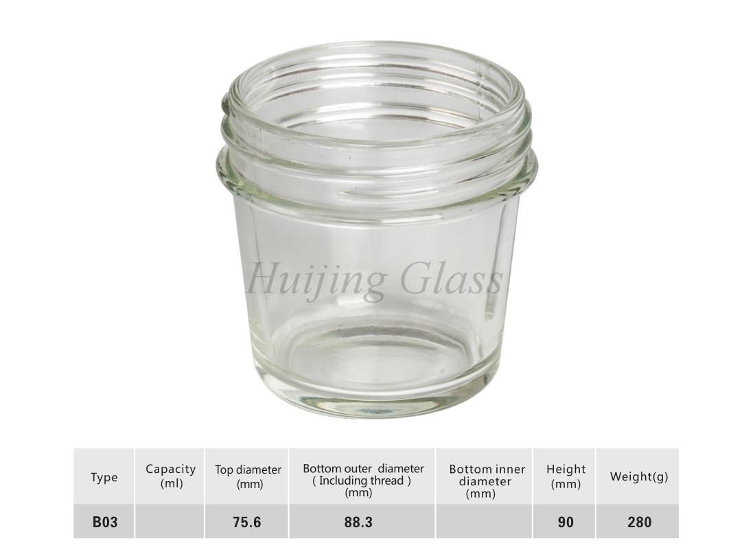 玻璃研磨杯B03