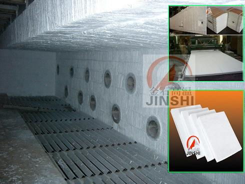 砖窑改修工程施工保温棉块