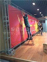 钢铁舞台桁架 广告背景架 展示架 演出灯光架厂家直销