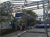 雷亚舞台桁架 钢铁热镀锌 背景架子t台桁架厂家直销