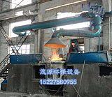 湖南铸造厂2吨中频炉除尘器冶炼炉设备;