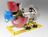 湖南安斯托博空气悬浮鼓风机100%纯无油系统、无摩擦轴承技术、免维修技术;