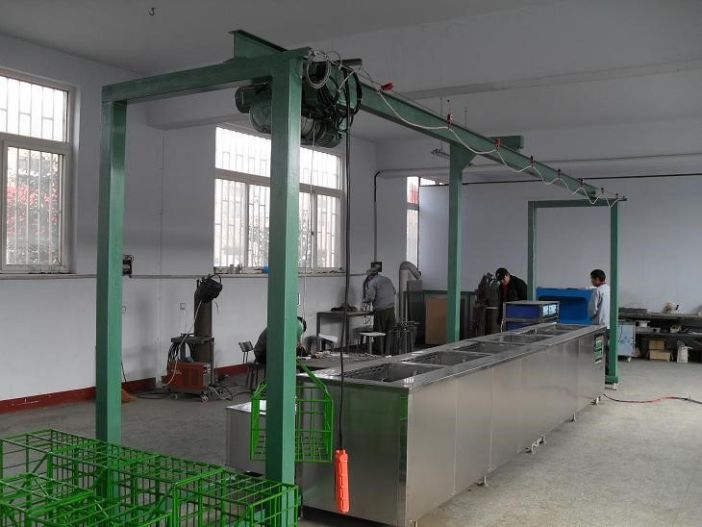 山東濟寧奧超JA-5000大功率超聲波零部件清洗機 超聲波發動機清洗機