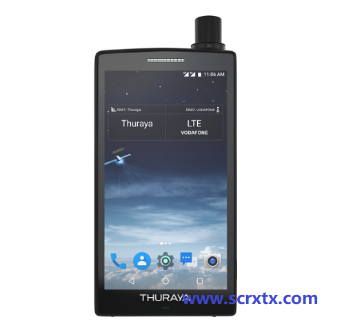 全球首款可以在卫星/4G模式下任意切换数据的智能卫星电话Thuraya X5-