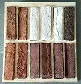 文化石模具亿之合人造文化石第三代改性PVC树脂塑胶圆角成型模具;